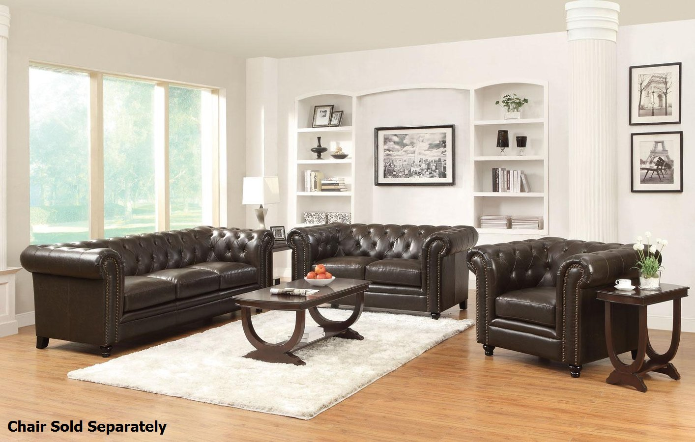 Best Kitchen Gallery: Roy Brown Leather Sofa And Loveseat Set Steal A Sofa Furniture of Leather Sofa Set  on rachelxblog.com