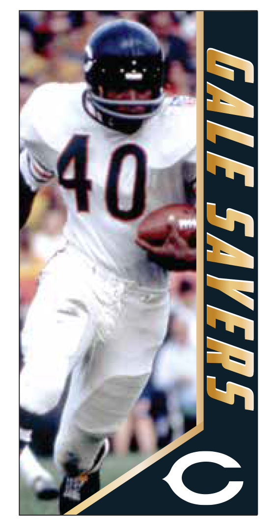 Gale Sayers Chicago Bears 2017 NFL Legends Series 2