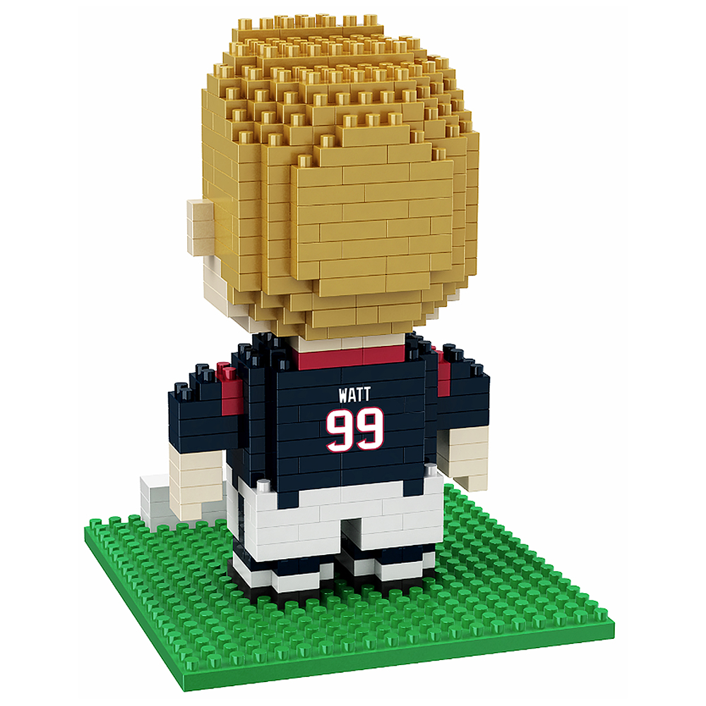 JJ Watt Houston Texans NFL 3D Player BRXLZ Puzzle By