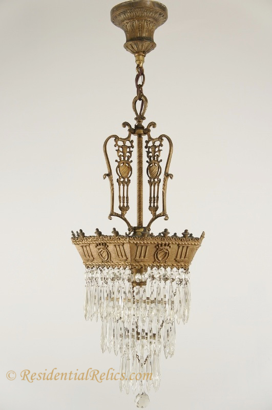 crystal chandelier tiered # 81