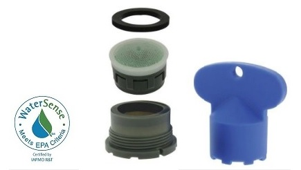 delta replacement faucet aerator by