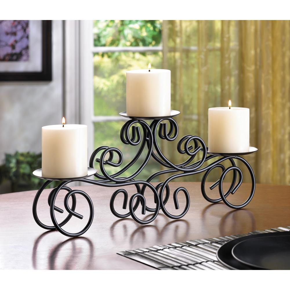 Tuscan Candle Centerpiece Wholesale at Koehler Home Decor on Decorative Wall Sconces Candle Holders Centerpieces Ebay id=75673