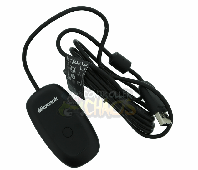 Microsoft Genuine Xbox 360 PC Adapter Official Controller Chaos