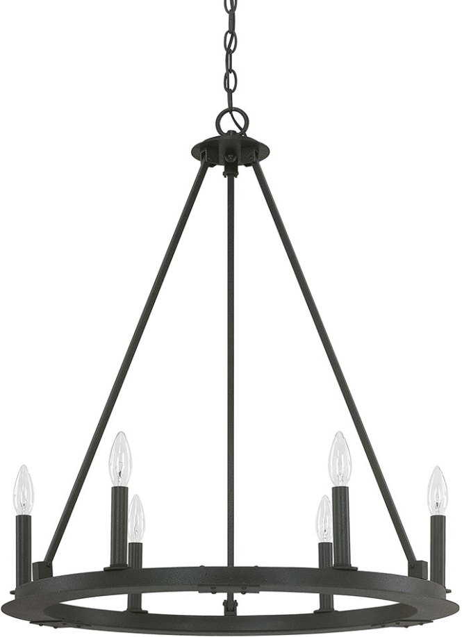 Capital Lighting 4916bi 000 Pearson Contemporary Black Iron Chandelier Light Loading Zoom