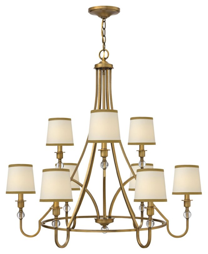 Hinkley 4878br Morgan Large Transitional 35 Inch Diameter Ceiling Chandelier Loading Zoom