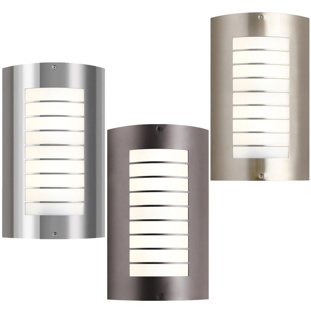 """Kichler 6048 Newport Modern 15.25"""" Tall Outdoor Sconce ... on Contemporary Wall Sconces Lighting id=76902"""