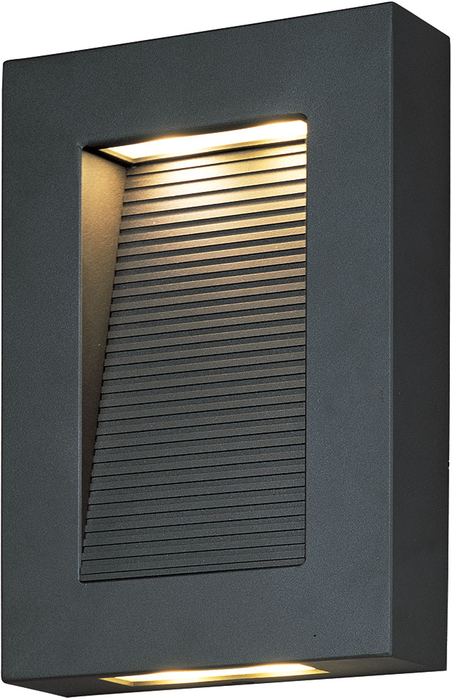 Maxim 54350ABZ Avenue Contemporary Architectural Bronze ... on Contemporary Outdoor Wall Sconces id=49026