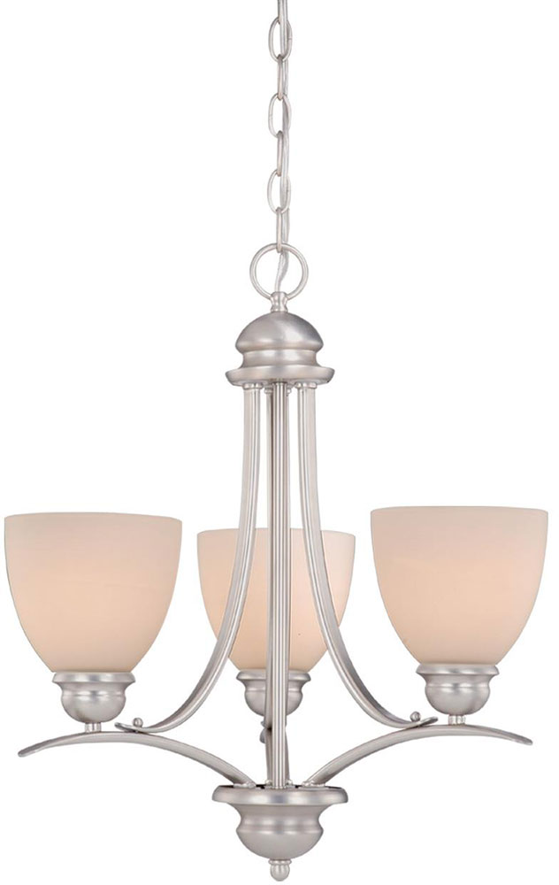 Vaxcel Al Chu003bn Avalon Brushed Nickel Mini Lighting Chandelier Loading Zoom