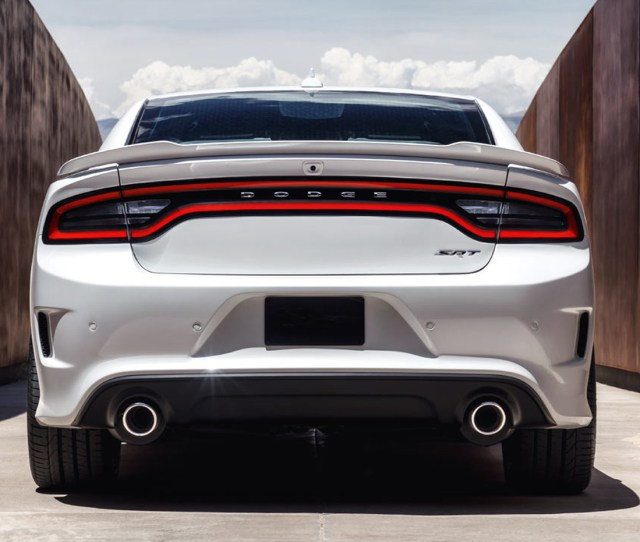 Dodge Charger Hellcat Rear Bumper Conversion 2015 2019