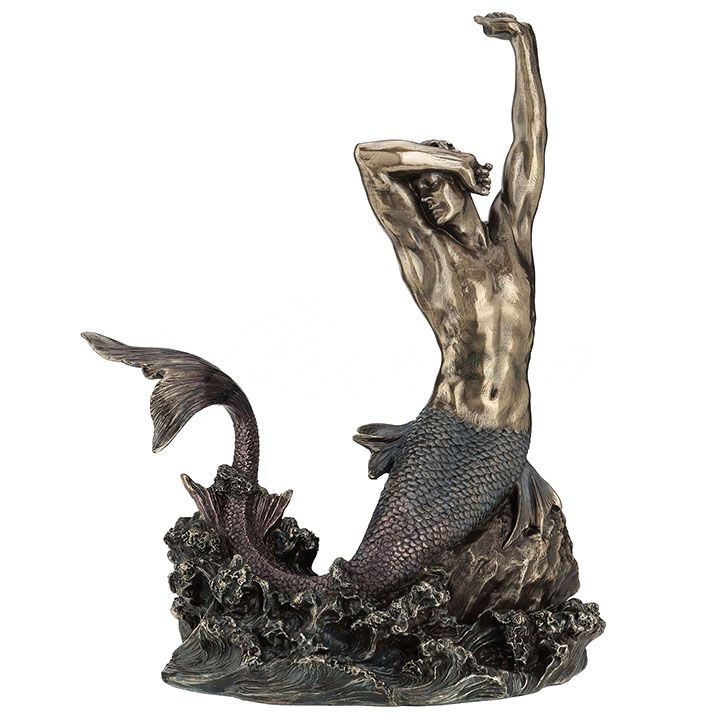 Stretching Merman Figurine Mermaid Gifts Amp Collectibles