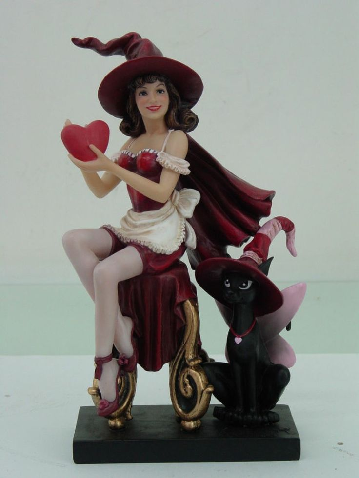 Valentine Witch By Brigid Ashwood Witch Gifts