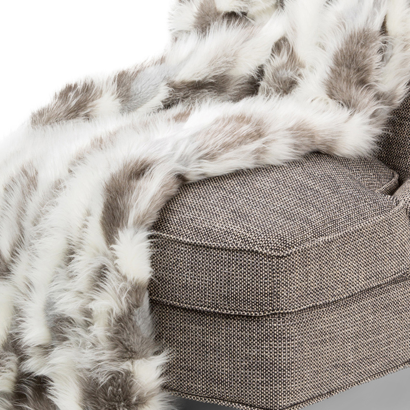56 X 72 Bryant Faux Fur Throw By Michael Amini Throws