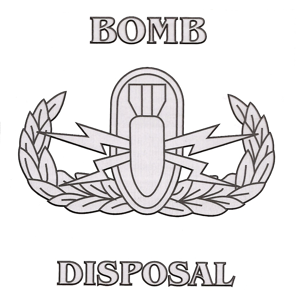 Static Disposal W Eod Badge