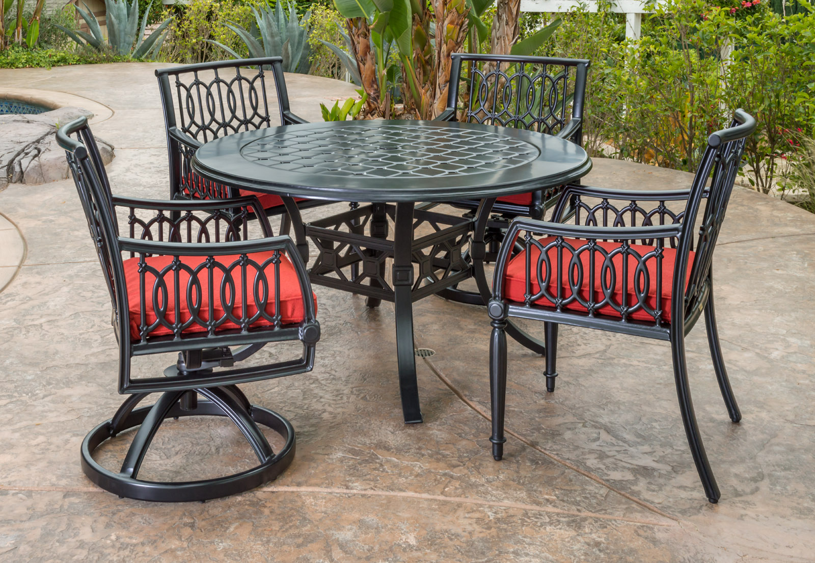 Aluminum Outdoor Cast Furniture
