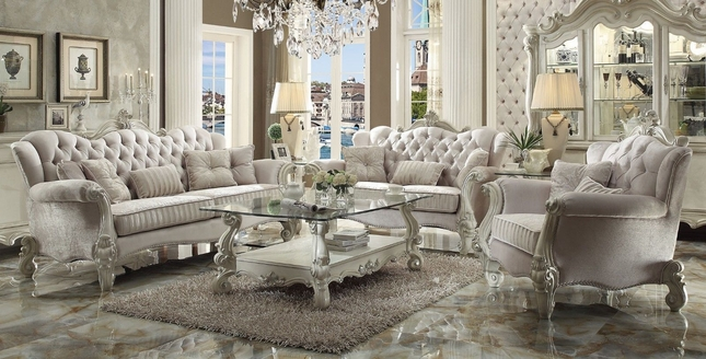 Ivory Living Room Furniture