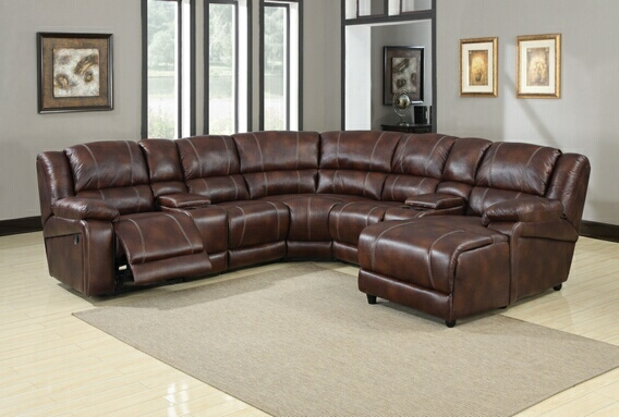 7 piece sectional sofa faux leather
