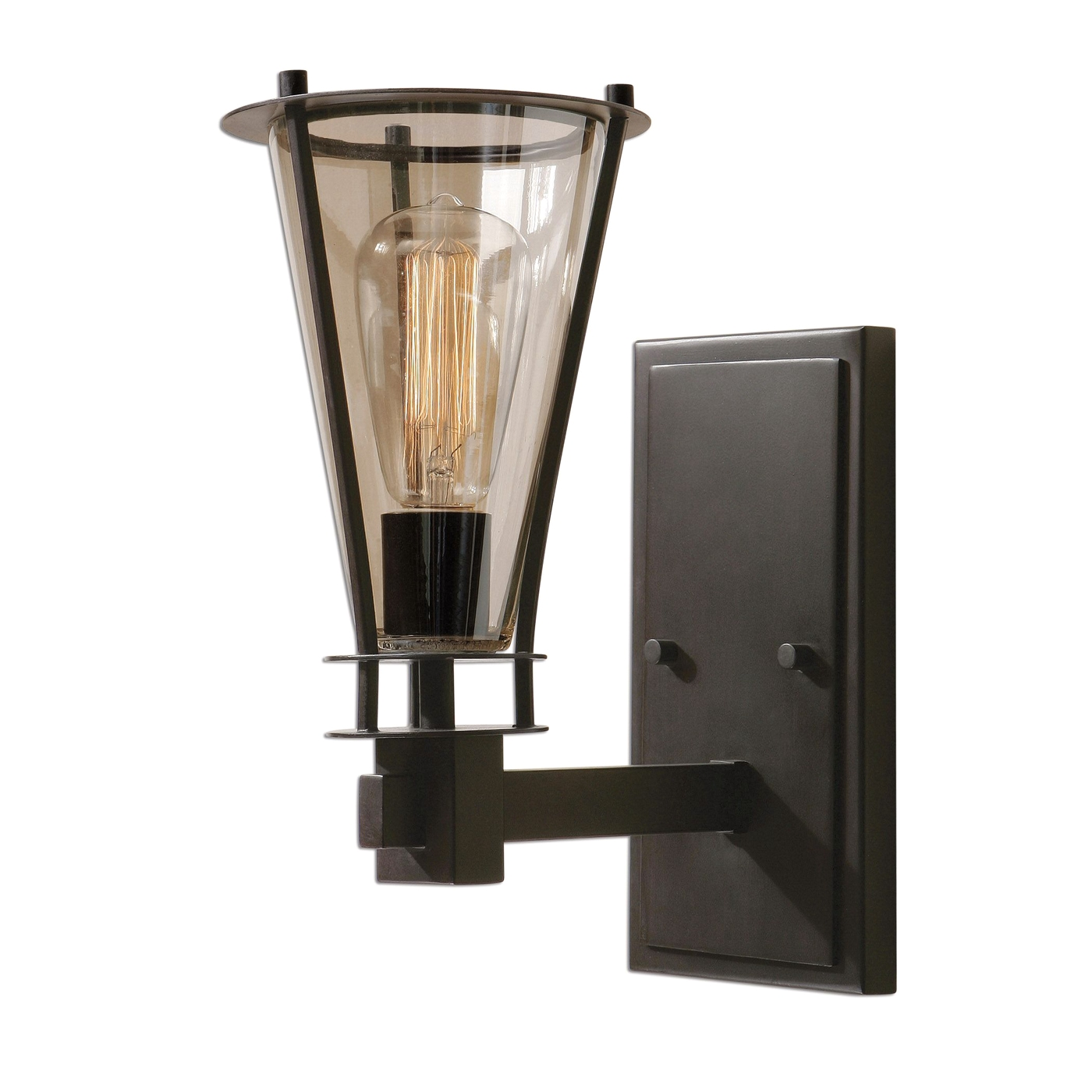 Frisco Rustic 1 Light Rustic Wall Sconce 22492 on Rustic Wall Sconces id=64554