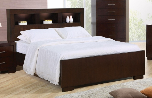 jessica king contemporary bed storage