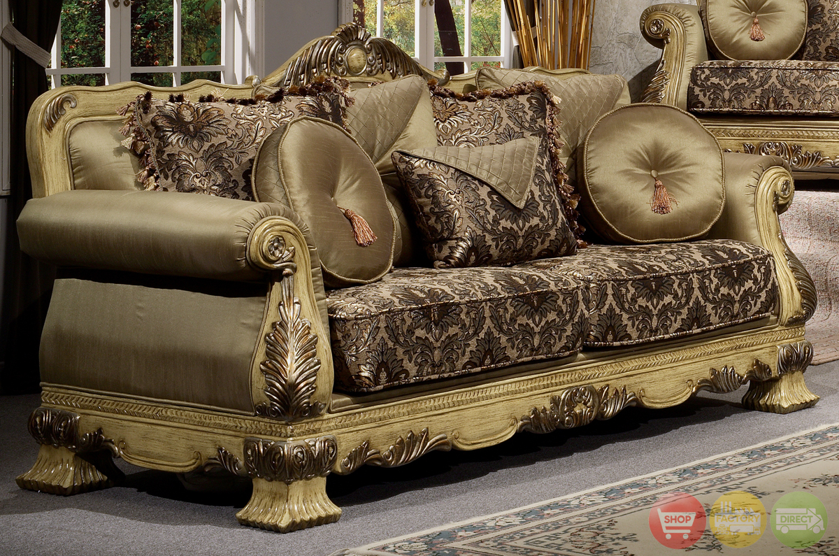 Luxury Antique Style Formal Living Room Furniture Set HD-913 on Furniture Style  id=53295