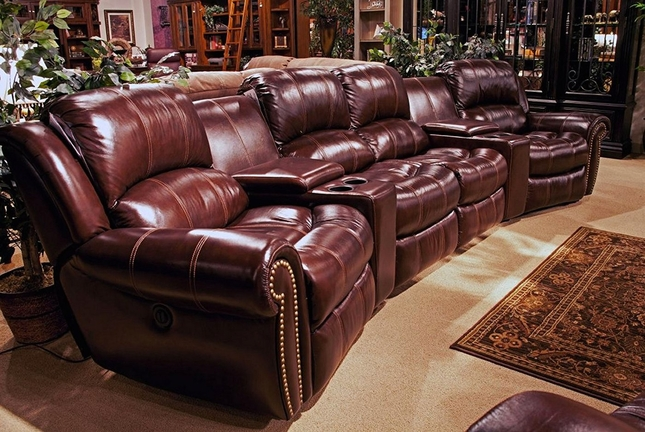 Furniture Flash Leather Recliner