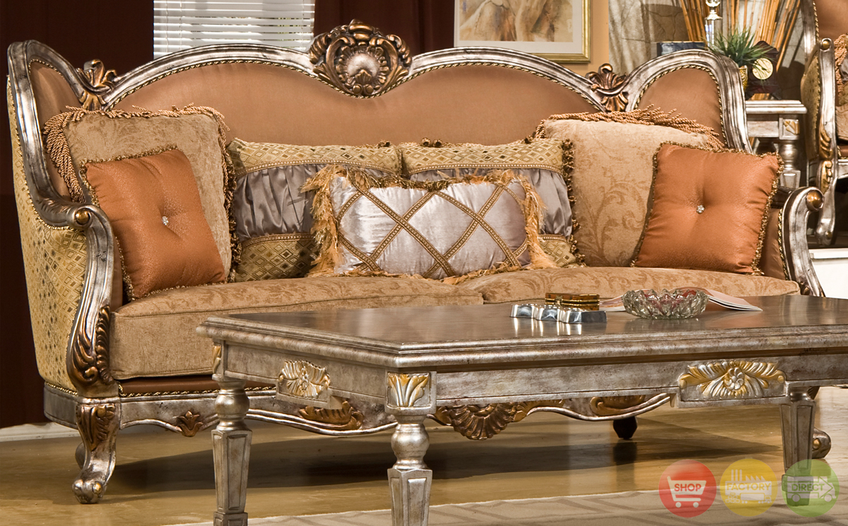 Traditional Upholstery French European Design Formal