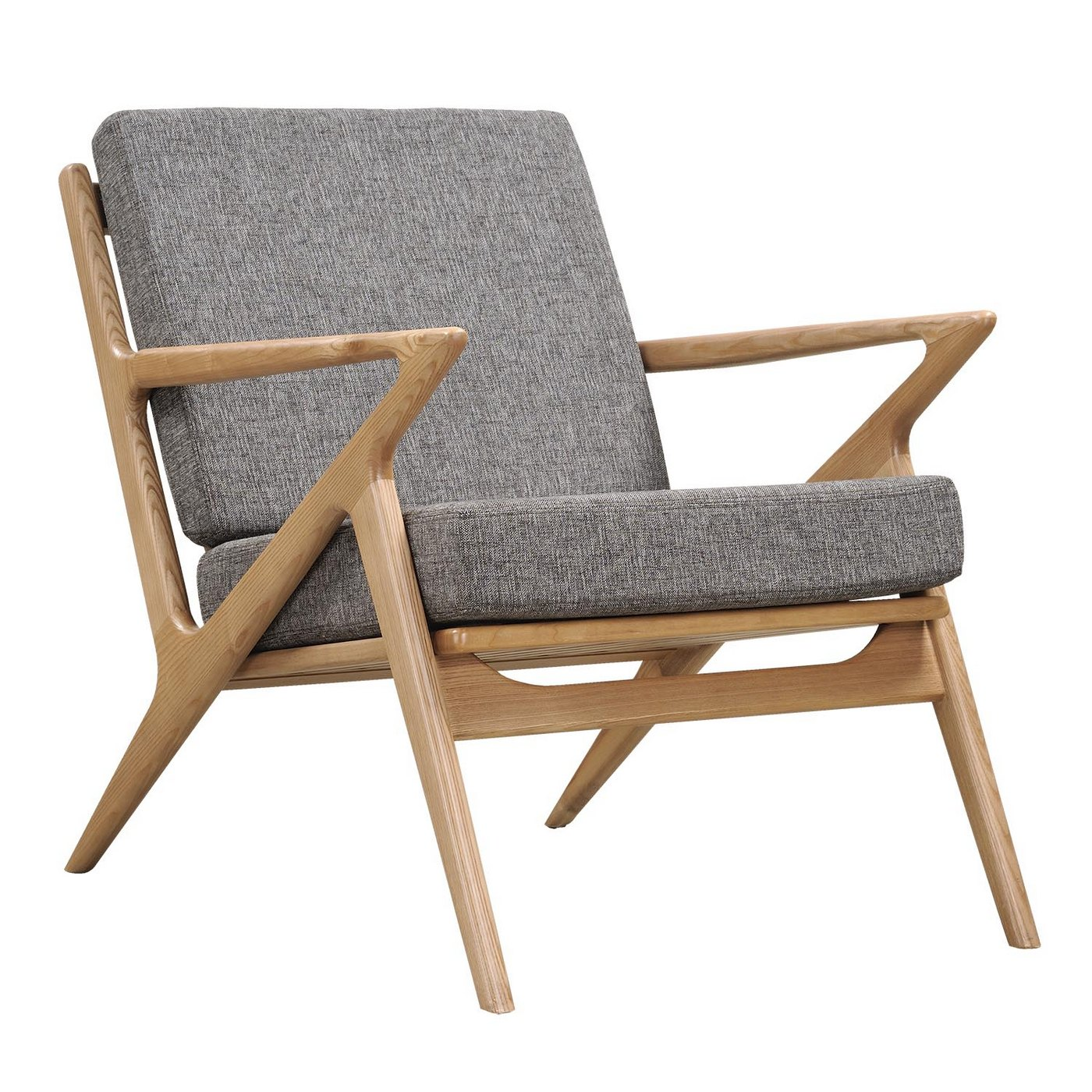 Mid Century Modern Wood Chair