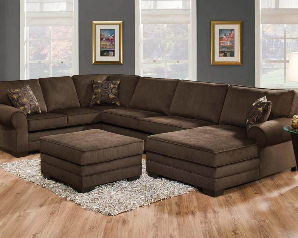 deluxe sectional sofa tenner by acme
