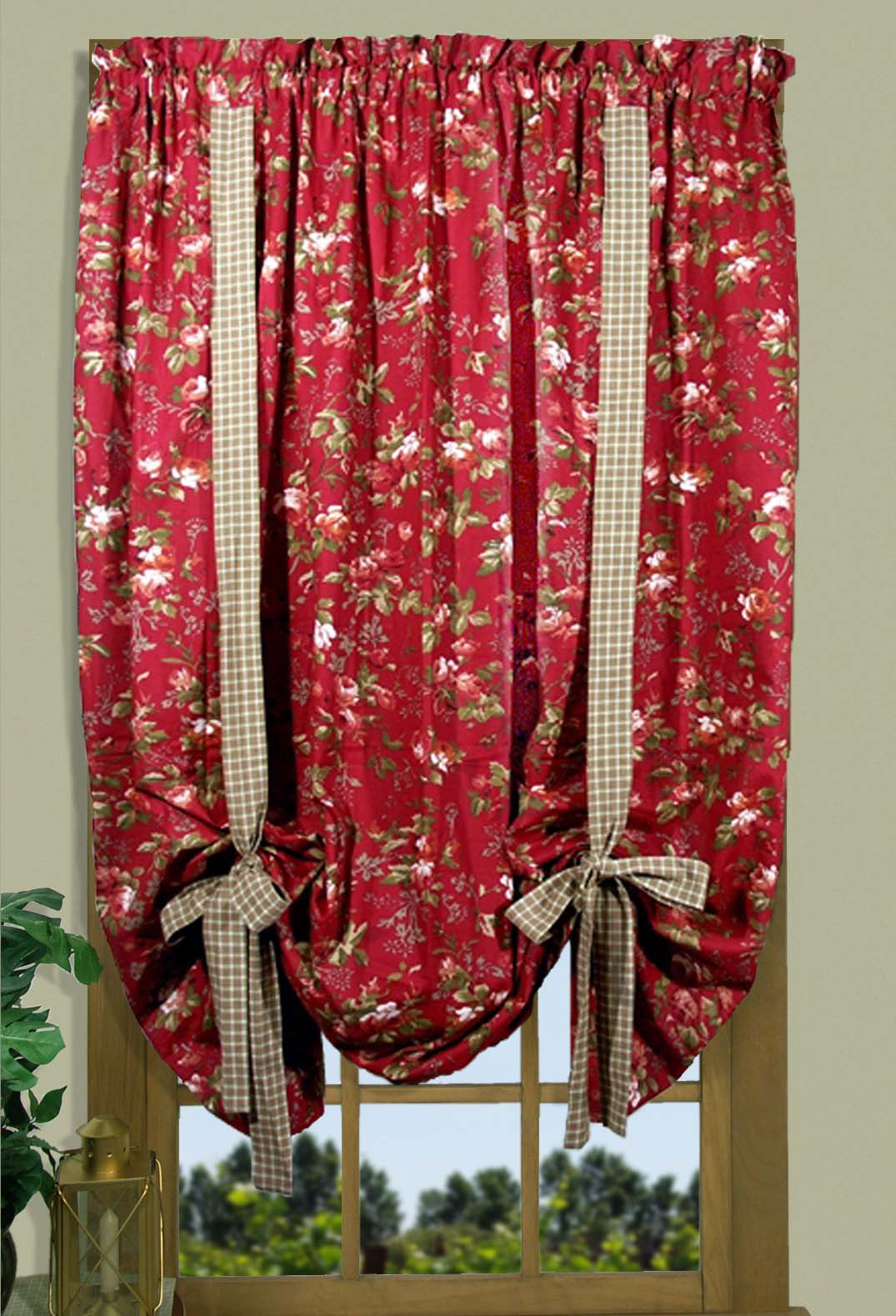 Climbing Roses Valances Amp Curtains