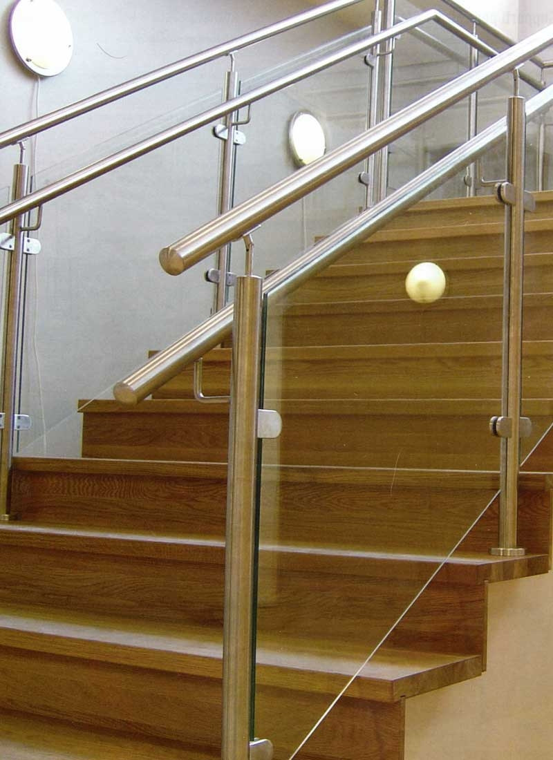Glass Railing L Pool Railing L Stainless Glass Railstainless | Glass Stair Railing Systems | Iron | Custom | Contemporary | Baluster | Design