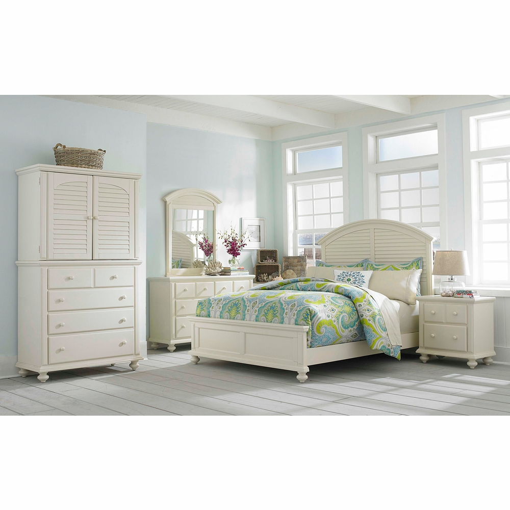 Broyhill Seabrooke 6 Piece California King Panel Bedroom Set