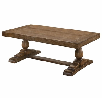 amy driftwood wood coffee table by best master furniture