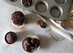 paleo banana chocolate muffins