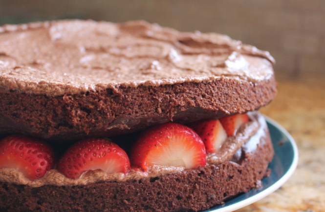 date sweetened chocolate cake