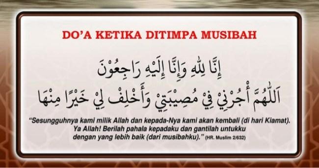 Ucapan Belasungkawa Islami 1