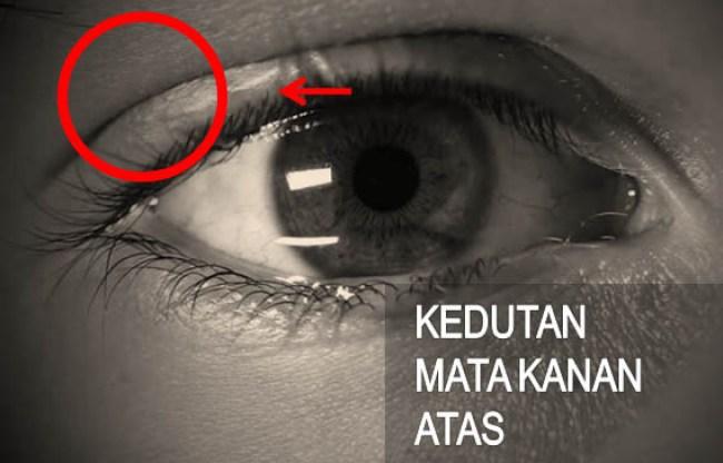 Arti Kedutan Mata Kanan Atas Menurut Primbon
