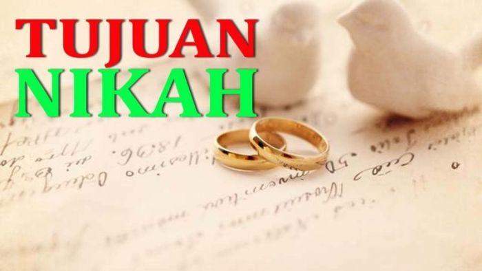 Tujuan Nikah dalam Islam