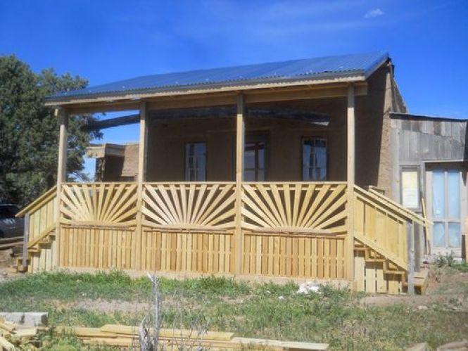 sunburst railing
