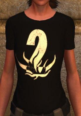 2nd Anniversary t-shirt (F)
