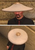 Jingana hat, white