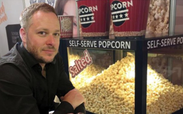 Fife Business Matters met up with business man David Archer, Managing Director of Sephra Europe with the Self-Service Popcorn Machine