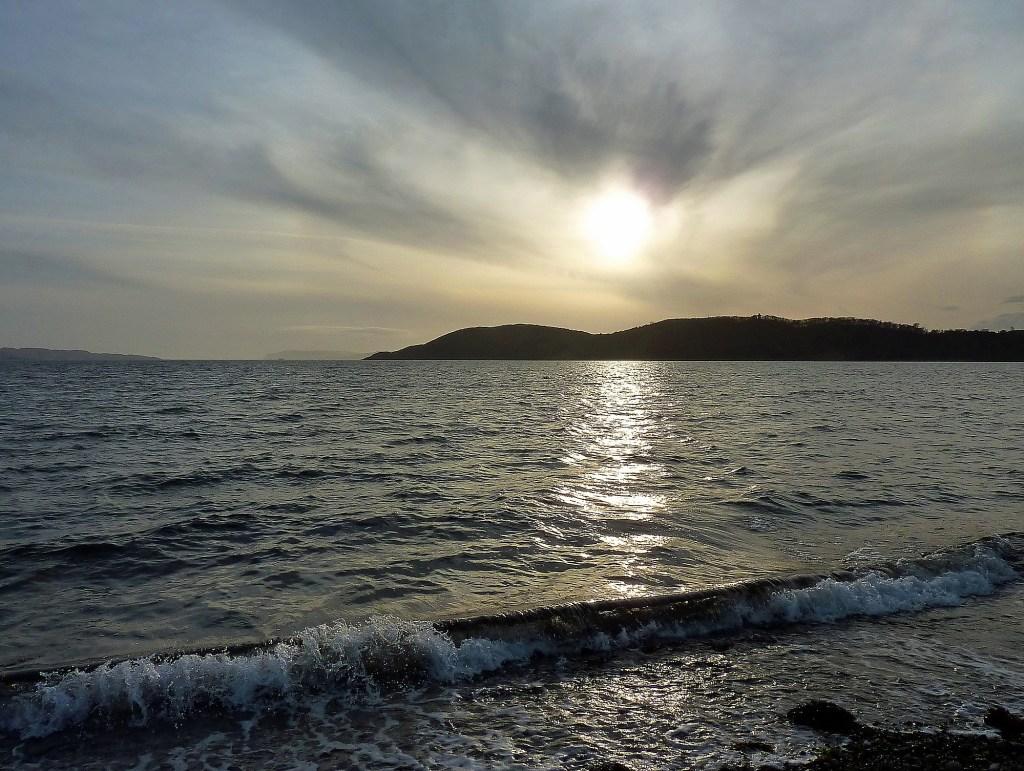 The sun over Tralee bay Benderloch