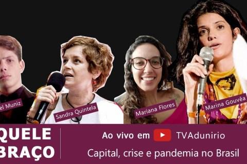 Debate Capital, crisis y pandemia en Brasil – con Marina Machado, transmisión en vivo