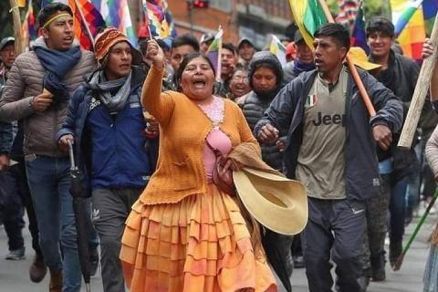 LOS PUEBLOS DE NUESTRA AMÉRICA SE LEVANTAN,BOLIVIA, HAITÍ, COLOMBIA, CHILE…