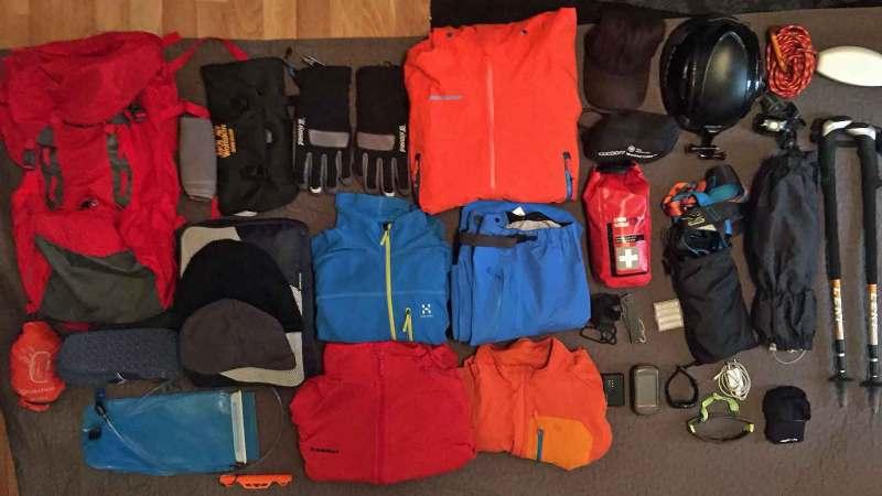 Packliste Wandern Tagestour Huettentour