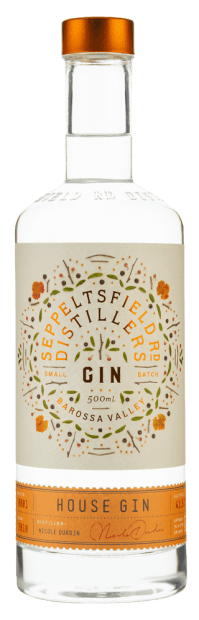 Seppeltsfield Road Distillers Barossa House Gin 500ml Barossa Valley