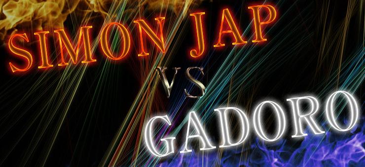 SIMON JAP vs GADORO