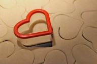 { A heart-shaped cutter that has come in handy lately }