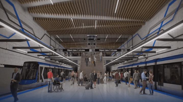 蒙特利尔新建电车路线