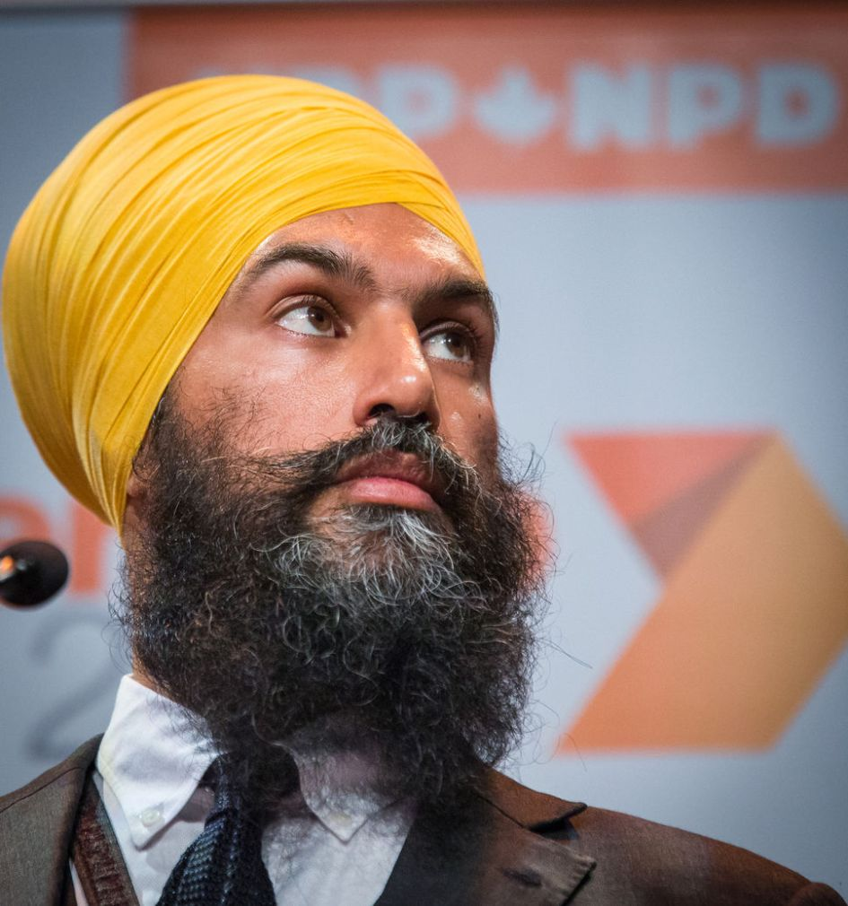 Image result for Jagmeet Singh npd