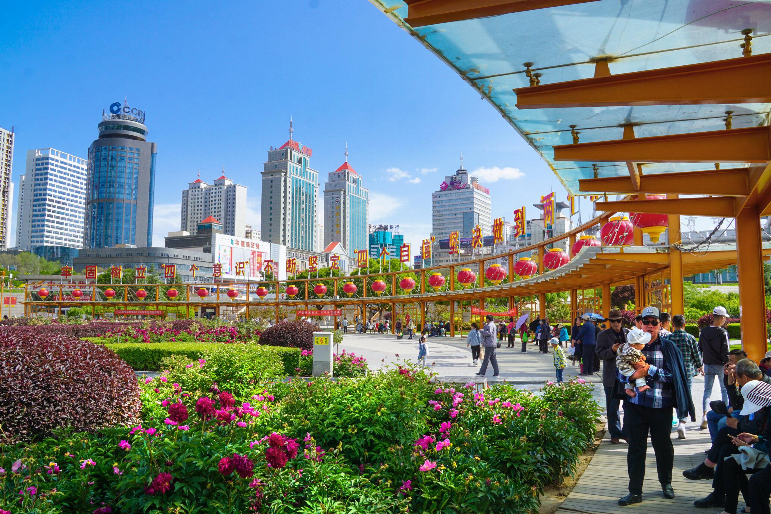 西宁:地绿 天蓝 水清的幸福城市